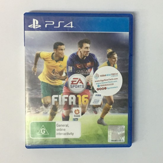FIFA 16 -  USED LIKE NEW - PlayStation 4