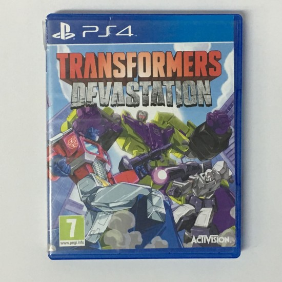Transformers Devastation - USED LIKE NEW | PS4