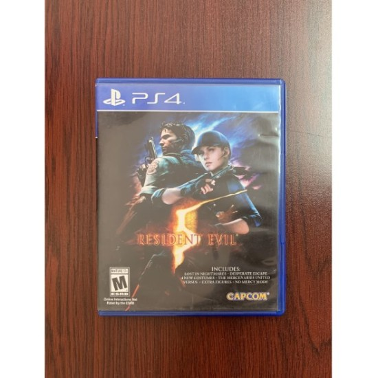 Resident Evil 5 - Used Like New - PlayStation 4
