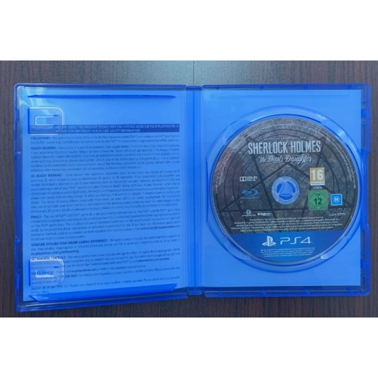 Sherlock Holmes The Devil's Daughter - Used Like New - PlayStation 4