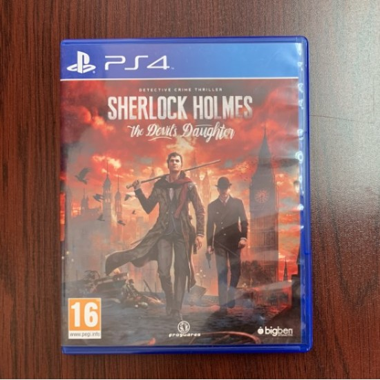 Sherlock Holmes The Devils Daughter - Used Like New - PlayStation 4