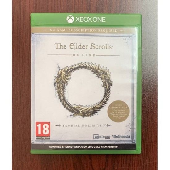 The Elder Scrolls Online Tamriel Unlimited - Used Like New - Xbox One