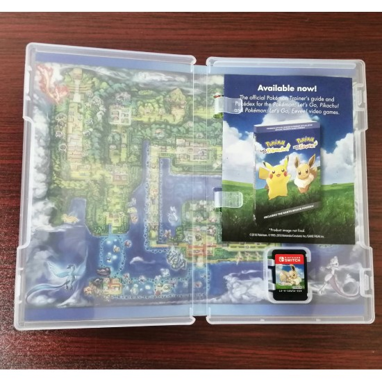 Pokemon: Let's Go Eevee - Used Like New - Switch
