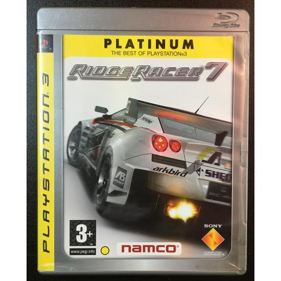 Ridge Racer 7 Platinum / PS3 ( Used Like New )