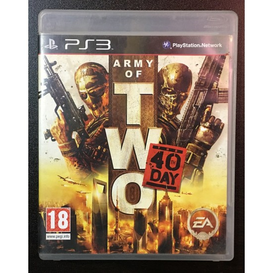 Army of Two: The 40th Day - Used Like New   PS3