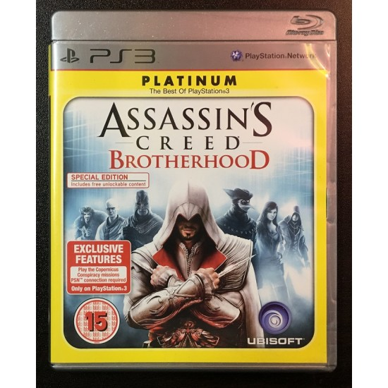 Assassins Creed: Brotherhood - Used Like New - PS3