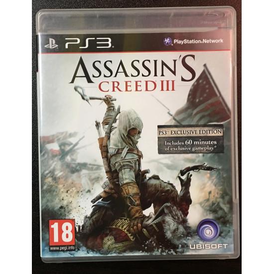 Assassins Creed III - Used Like New | PS3