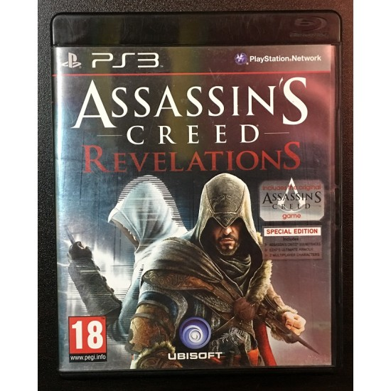 Assassins Creed Revelations - Used Like New - PS3