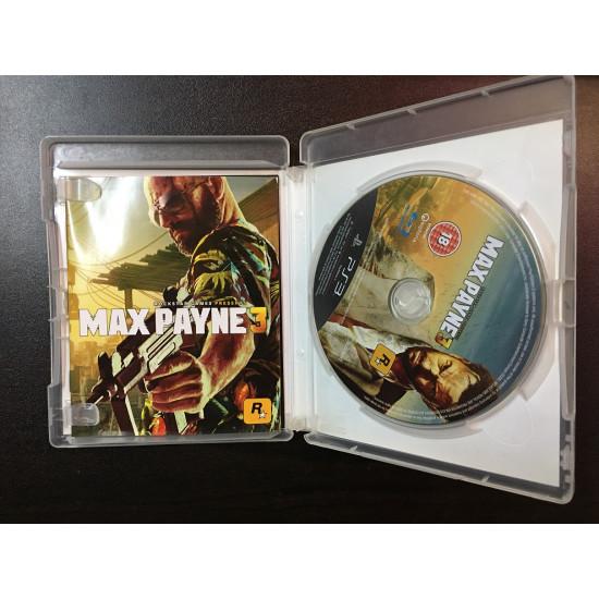 Max Payne 3 - Used Like New   PS3