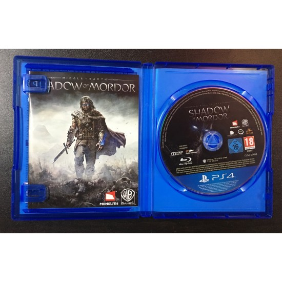 Middle-Earth Shadow Of Mordor - Used Like New | PS4