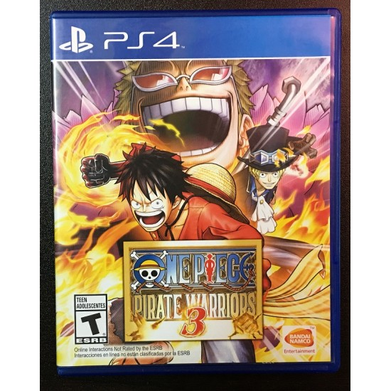One Piece Pirate Warriors 3 - Used Like New | PS4