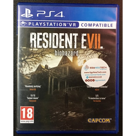 Resident Evil 7 Biohazard  - Used Like New | PS4 - PSVR