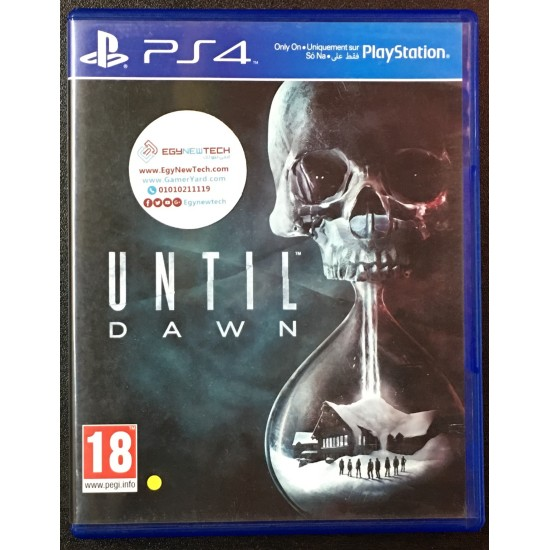 Until Dawn - Used Like New - PS4