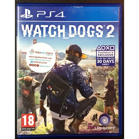 Watch Dogs 2 - Used Like New | PS4