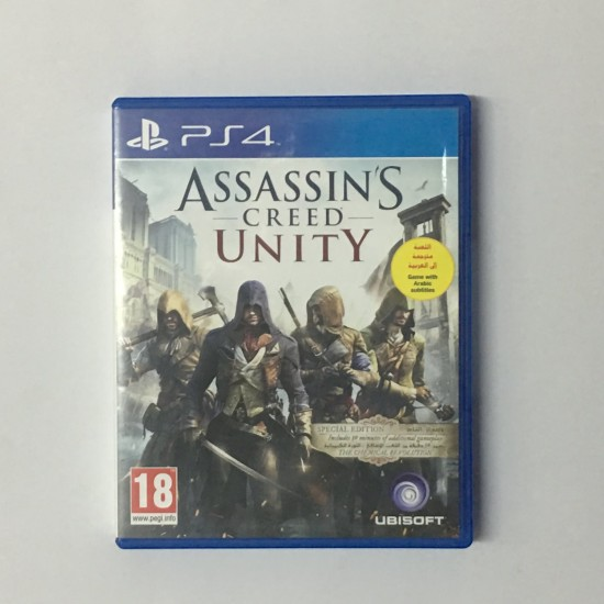 Assassins Creed Unity - Middle East Edition - Used like new   PS4
