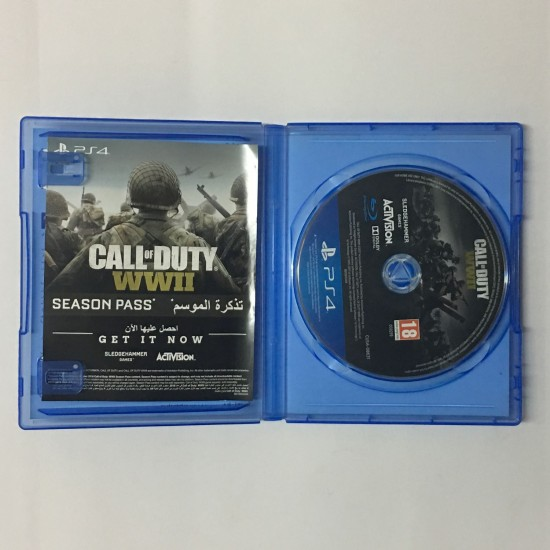 Call of Duty: WWII - Arabic Edition - Used Like New - PS4