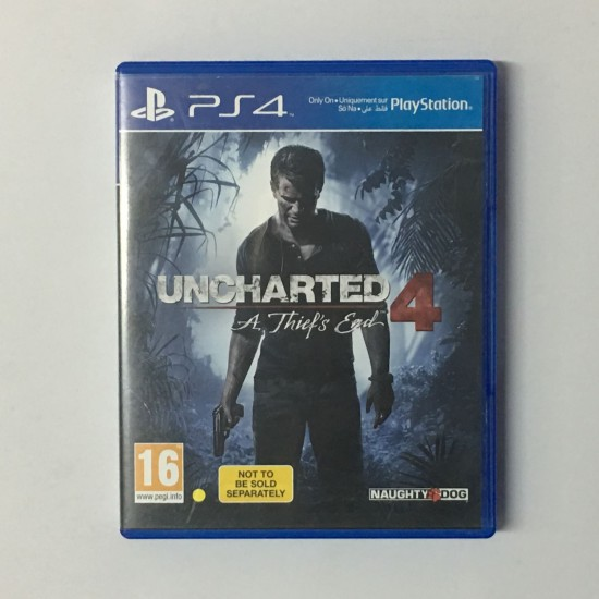 Uncharted 4: A Thiefs End - Used Like New | PS4