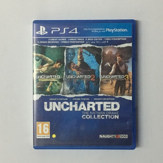 Uncharted: The Nathan Drake Collection - Used Like New | PS4