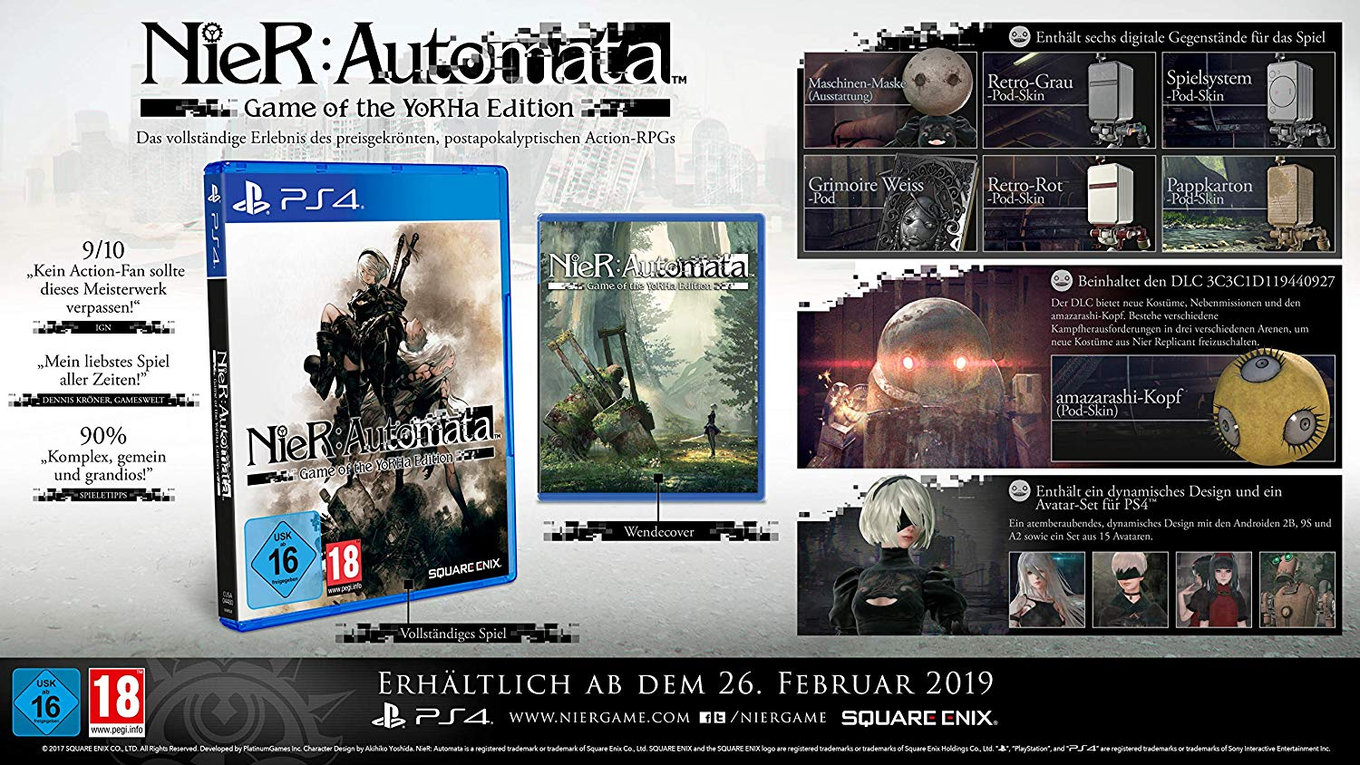 NieR:Automata™ Game of the YoRHa Edition | PC - Steam ...